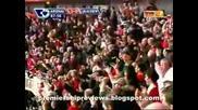 14.03 Арсенал - Блекбърн 4:0 Емануел Ебуе гол