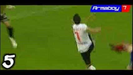 David Villa - Top 10 Goals - 2008 - 09