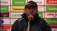 Радуканов: Натрупаха ни се много контузени футболисти, а ни предстои тежка серия