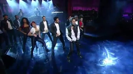 Justin Bieber - Boyfriend - David Letterman - 12 - 06 - 12
