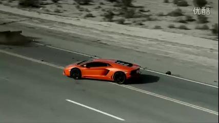 Разбиваща реклама на Lamborghini