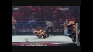 The Colons vs. Edge & Jericho vs. Legacy ( Unified Tag Team Championships ) Part 2
