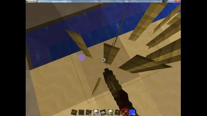 Minecraft-как да си направим суперска къща на три етажа.заслужава си да гледаш!27 минути.най-дългият