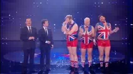 The Dreambears Its Raining Men - Britains Got Talent 2009 - Semi - Final 5.flv