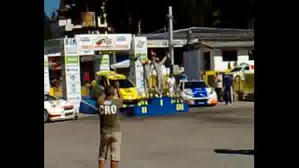 Награждаване Рали България 2008 Боровец
