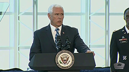 USA: Pence says 'Maduro must go' as hospital ship sent to aid displaced Venezuelans