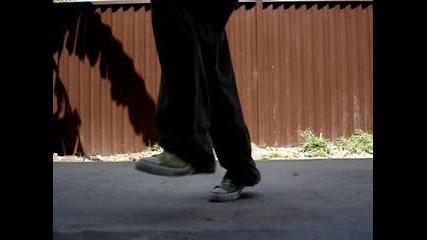 C - Walk - Heel Toe Modification