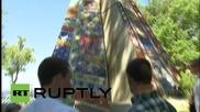Русия: Медведев посети младежки арт форум в Крим