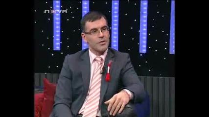 Министърът на финансите Симеон Дянков, гост в шоуто на Иван и Андрей (2 - ра част)