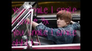 Justin Bieber - U smile - lyrics [: