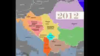new balkan map