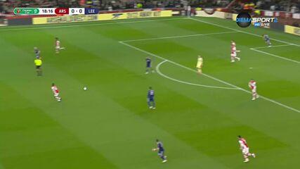 Арсенал - Лийдс 0:0 /първо полувреме/