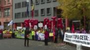 Germany: 'Merci Wallonia!' Berliners support Belgian region's rejection of CETA