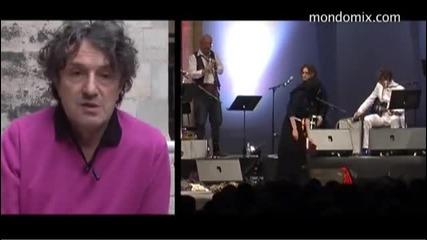 Goran Bregovic - Interview - (LIVE) - (Basilica of St Denis)