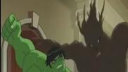 Отмъстителите: Най-могъщите герои на Земята / Хълк срещу Грут и Ракетата
