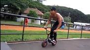 Страхотни трикове с малко колело