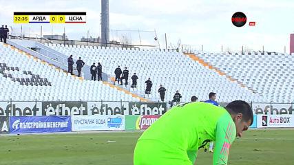 Арда - ЦСКА 0:0 /първо полувреме/