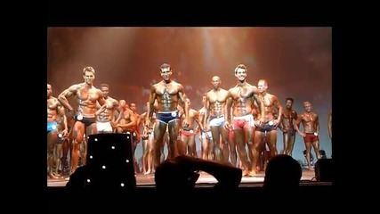 Top 10 Male Fitness Model Lineup 2011 Wbff Central Us Champions