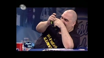 Фалшиво Пеене - Music Idol 3.flv