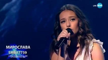 Мирослава ни потопи в най-красивото си изпълнение - Imagine - X Factor Live (03.12.2017)
