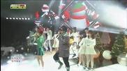 131222 Koyote - Hug Me @ Inkigayo Christmas Special