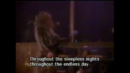 Skid Row - I Remember You (lyrics)