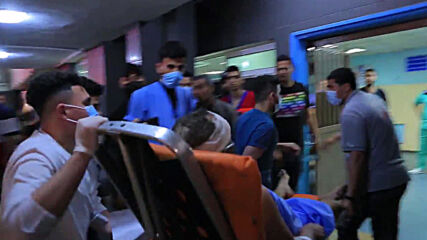 State of Palestine: Injured rushed to Gaza hospital as Israeli raids continue