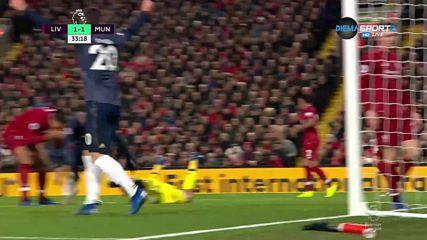 Юнайтед изравни след ужасна грешка на Алисон /1:1/