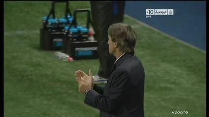 Оуен Харгрийвс! Първи гол за Сити срещу Бирмингам 2011 Карлинг Къп