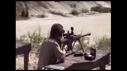 Pxl666 Firing Barrett Rifle