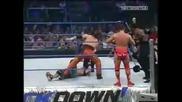 John Cena and Rey mysterio Rob Van Dam Vs. Booker T and Dupree and Suzuki