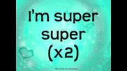 Hannah Montana 3 - Super Girl ( lyrics)