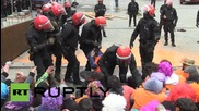 Spain: Riot police crush Basque protest demanding release of political activists