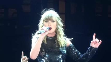 На живо от Санта Клара! Taylor Swift - I Did Something Bad - Reputation Stadium Tour