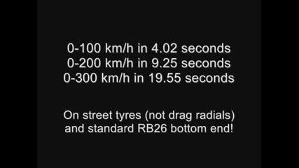 Skyline/0 - 300 km/h за 19 секунди