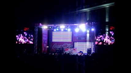 Coca-cola Happy Energy Tour 2011 Бургас - Dj Sava - Love you