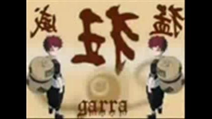 Naruto, Gaara I Sasuke