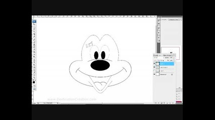 How To Draw Mickey Mouse In Photoshop