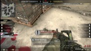 Cs Go Ace Dust 2 4 Pro90s 1 M4a1 and defuse 19.01.2015