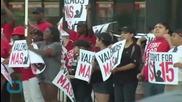 Wage Protesters Bring McDonald's Illinois Headquarters to a Standstill