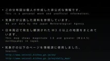 Japan 01.01-2011 do 01.01.20122 (earthquakes)