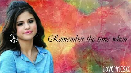 Selena Gomez ft.the Scene - I Won't Apologize Lyrics [hd]