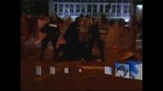 Сблъсъци между полиция и демонстранти в Словения, има ранени