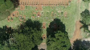 Brazil: Drone footage shows hundreds of graves dug in Sao Paulo cemetery amid coronavirus outbreak