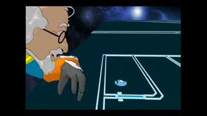 Д - Р Квант Посещава Плоскоземия