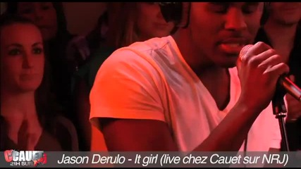 Jason Derulo - It girl (live chez Cauet)