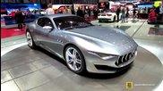 2015 Maserati Alfieri Concept - Exterior Walkaround - Debut at 2014 Geneva Motor Show