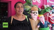 "Mexico: Escaped drug-lord ""El Chapo"" returns ... as a Pinata"
