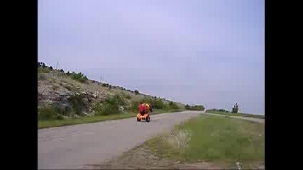 ATV На Задна Гума В Монтана