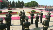China: Chinese President Xi Jinping welcomes Putin in Beijing